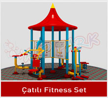 AVP PARK ÇATILI FITNESS SET
